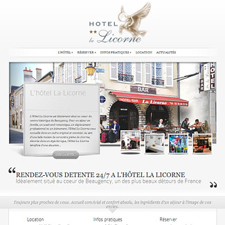 Hôtel La Licorne à Beaugency